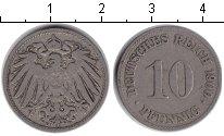 Изображение Монеты Германия 10 пфеннигов 1900 Медно-никель XF