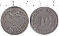Изображение Монеты Германия 10 пфеннигов 1902 Медно-никель XF