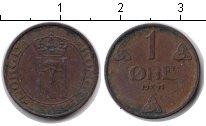 Изображение Монеты Норвегия 1 эре 1941 Медь XF Хокон VII
