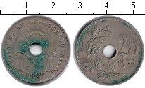 Изображение Монеты Бельгия 25 сантим 1927 Медно-никель XF