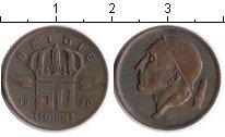 Изображение Монеты Бельгия 50 сантимов 1970 Медь