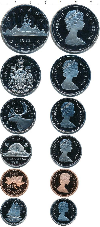 Картинка Наборы монет Канада Канада-1983  1983