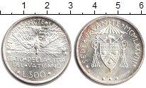 Изображение Монеты Ватикан 500 лир 1978 Серебро XF