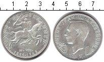 Изображение Монеты Люксембург 100 франков 1946 Серебро XF 600-летие Иоанна Спе