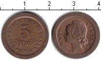 Изображение Монеты Португалия 5 сентаво 1930 Медь XF