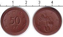 Изображение Монеты Саксония 50 пфеннигов 1921 Фарфор UNC-