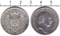 Изображение Монеты Германия Саксония 2 марки 1914 Серебро XF