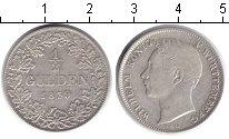 Изображение Монеты Вюртемберг 1/2 гульдена 1839 Серебро XF Вильгельм