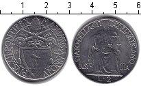 Изображение Монеты Ватикан 2 лиры 1942 Медно-никель XF Пий XII