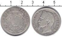Изображение Монеты Франция 2 франка 1868 Серебро VF