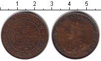 Изображение Монеты Гонконг 1 цент 1924 Медь VF