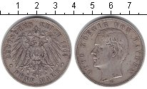 Изображение Монеты Германия Бавария 5 марок 1903 Серебро XF