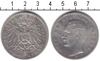 Изображение Монеты Германия Бавария 5 марок 1907 Серебро XF