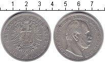 Изображение Монеты Германия Пруссия 5 марок 1874 Серебро XF