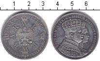 Изображение Монеты Пруссия 1 талер 1861 Медно-никель XF Коронационный талер.