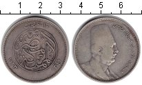 Изображение Монеты Египет 10 пиастров 1923 Серебро XF Фуад