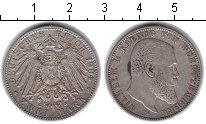 Изображение Монеты Вюртемберг 2 марки 1904 Серебро XF Вильгельм II. F