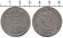 Изображение Монеты Сан-Томе и Принсипи 50 сентаво 1929 Медно-никель  Колония Португалии.