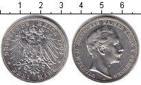 Изображение Монеты Пруссия 3 марки 1909 Серебро XF