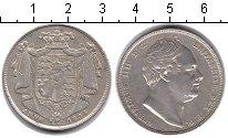Изображение Монеты Великобритания 1/2 кроны 1834 Серебро XF