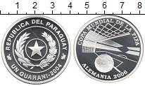 Изображение Монеты Парагвай 1 гарани 2004 Серебро Proof-