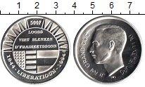 Изображение Монеты Люксембург 500 франков 1994 Серебро UNC- 50-летие освобождени