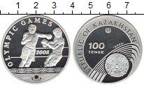 Изображение Монеты Казахстан 100 тенге 2006 Серебро Proof- Олимпийские игры 200