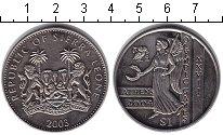 Изображение Монеты Сьерра-Леоне 1 доллар 2003 Медно-никель UNC- Олимпийские игры 200