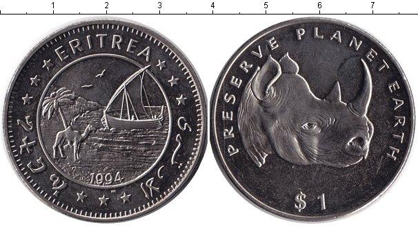 Картинка Монеты Эритрея 1 доллар Медно-никель 1994