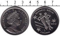 Изображение Монеты Остров Мэн 1 крона 2014 Медно-никель UNC-