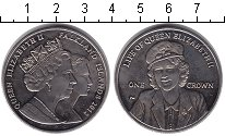 Изображение Монеты Фолклендские острова 1 крона 2012 Медно-никель XF Жизнь королевы Елиза