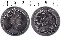 Изображение Монеты Остров Мэн 1 крона 1997 Медно-никель XF Год быка.
