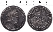 Изображение Монеты Фолклендские острова 1 крона 2007 Медно-никель XF