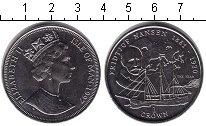 Изображение Монеты Остров Мэн 1 крона 1997 Медно-никель XF Фритьоф Нансен.
