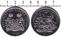 Изображение Монеты Сьерра-Леоне 1 доллар 1999 Медно-никель UNC-