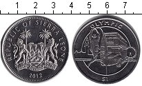 Изображение Монеты Сьерра-Леоне 1 доллар 2012 Медно-никель XF