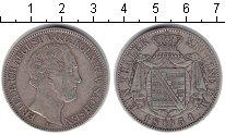 Изображение Монеты Саксония 1 талер 1851 Серебро VF