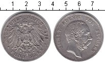Изображение Монеты Германия Саксония 5 марок 0 Серебро XF