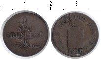 Изображение Монеты Саксония 1 грош 1846 Серебро
