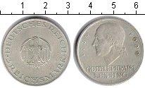 Изображение Монеты Веймарская республика 3 марки 1929 Серебро VF Лессинг