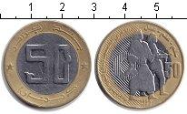 Изображение Монеты Алжир 50 динар 2004 Биметалл VF Солдаты