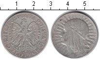 Изображение Монеты Польша 5 злотых 1932 Серебро  Королева Ядвига.