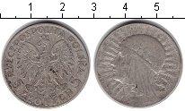 Изображение Монеты Польша 5 злотых 1933 Серебро VF