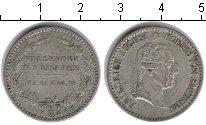 Изображение Монеты Саксония 1/6 талера 1827 Серебро VF