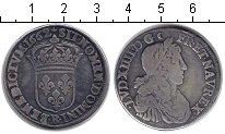 Изображение Монеты Франция 1/2 экю 1662 Серебро VF