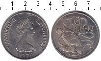 Изображение Монеты Сейшелы 10 рупий 1974 Медно-никель XF