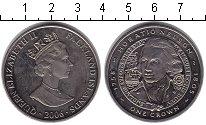 Изображение Монеты Великобритания Фолклендские острова 1 крона 2006 Медно-никель XF