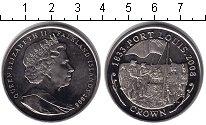 Изображение Монеты Великобритания Фолклендские острова 1 крона 2008 Медно-никель XF