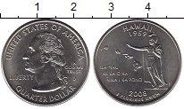 Изображение Мелочь США 1/4 доллара 2008 Медно-никель UNC-