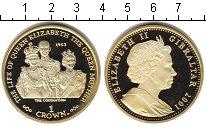 Изображение Монеты Гибралтар 1 крона 2001  Proof-